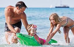 SommerferieSommer og sol, her har vi samlet alle vores sommerferie-tilbud til dig.