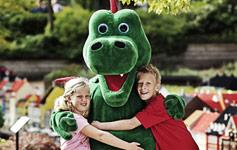 Sjov for børnFerier med fokus på børnene, f.eks. 3 dages miniferie ved LEGOLAND®