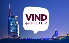 Vind flybilletterDeltag i konkurrencen om 2 flybilleter til Dubai på vores facebookside.